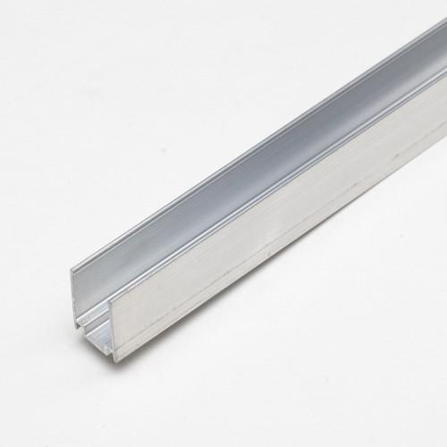 Монтажный профиль неанодированный для LED NEON 1метр
