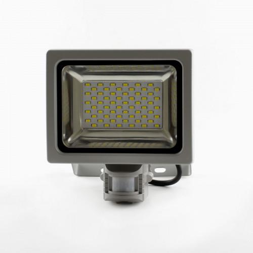Светодиодный прожектор Venom SMD 30Вт Premium с датчиком движения