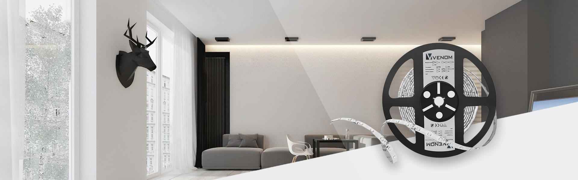 светодиодная лента venom для дизайнерского освещения