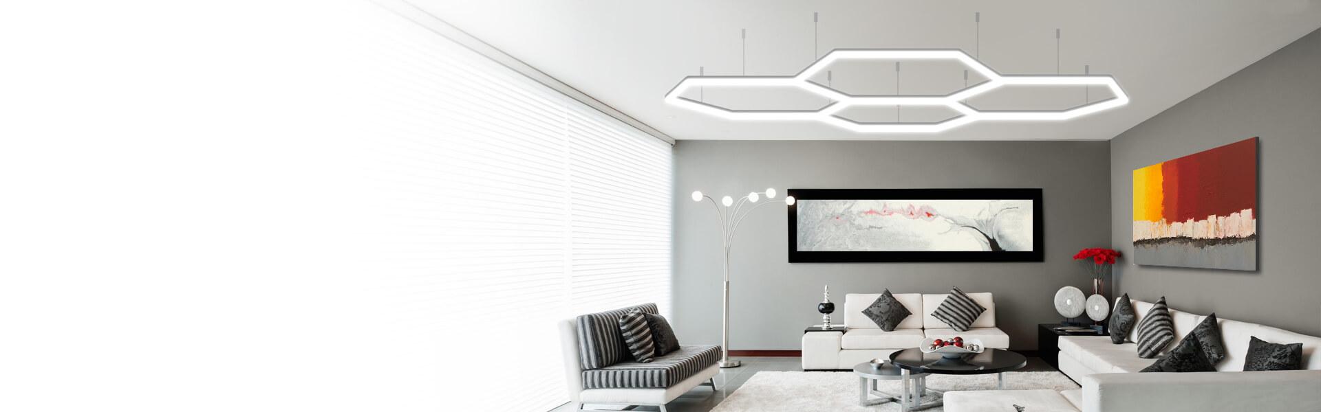 светодиодные светильники venom: современные решения