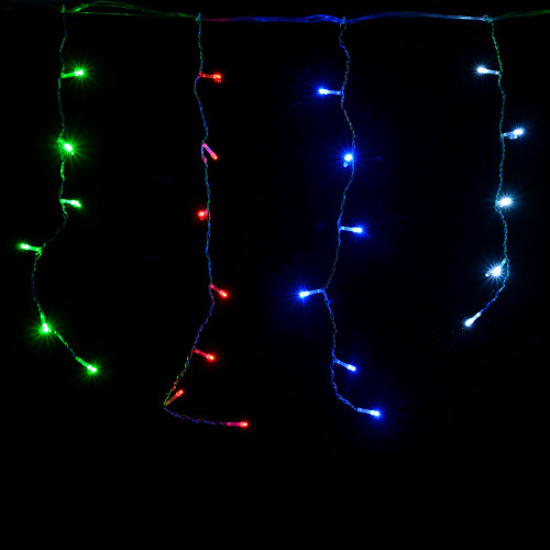 "Гирлянда светодиодная VENOM ""Висюлька"" 108LED RGB, белый провод (LS-VISULKA-108LED-WC-RGB)"